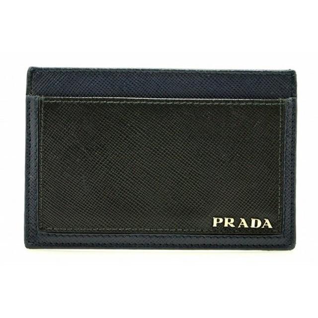 superior quality a3a96 1787a PRADA プラダ SAFFIANO カードケース パスケース 名刺入れ 定期 ...