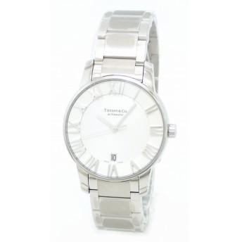 (ウォッチ)TIFFANY&Co. ティファニー アトラスドーム アトラス 3ハンド デイト ホワイト文字盤 SS メンズ AT オートマ 腕時計 Z1800.68.10A21.A00A(k)