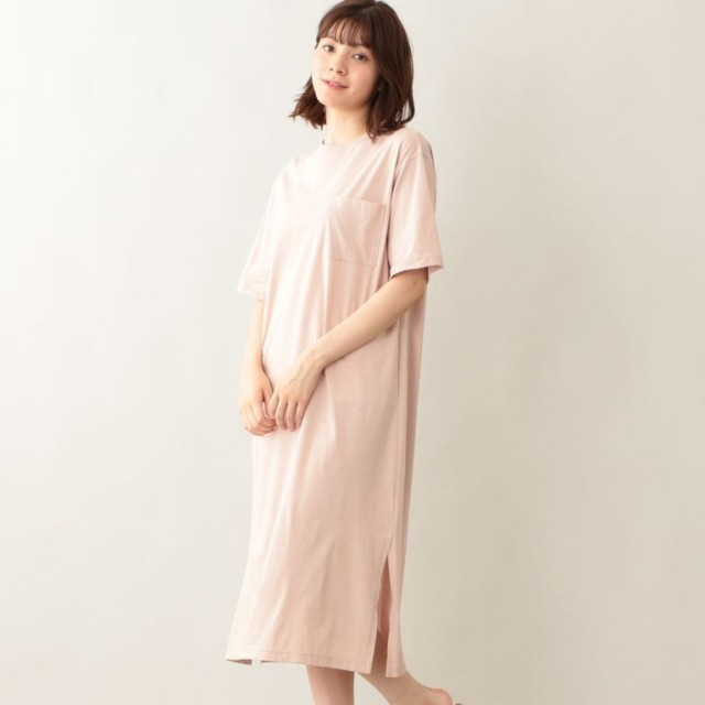SALE【エムピー ストア(MP STORE)】 Tシャツワンピース Tシャツワンピース ピンク