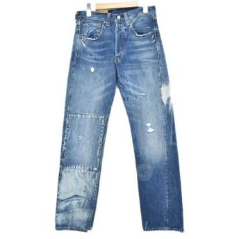LEVIS VINTAGE CLOTHING Lot.47501-0183 加工デニムパンツ インディゴ サイズ:29 (堅田店) 191021