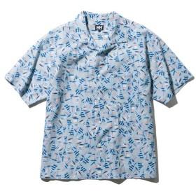 ヘリーハンセン ショートスリーブヨットプリントシャツ HE41910 CS(クラウドサックス) メンズ HELLY HANSEN S/S Yacht Print Shirt