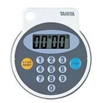 タニタ 防滴デジタルタイマー 100分計 5342 ホワイト