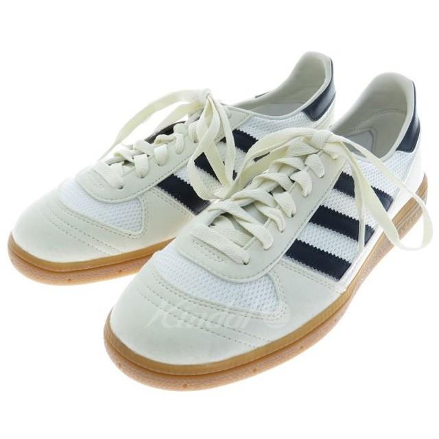 adidas WILSY SPZL スニーカー ホワイト×ダークネイビー サイズ:25.5cm (フレスポ東大阪店) 181104