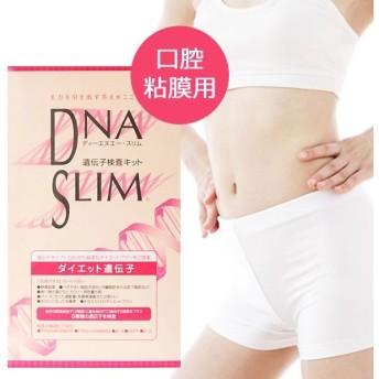DNA SLIM ダイエット遺伝子検査キット 口腔粘膜用 10種類の肥満タイプ診断 体質調査