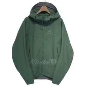 【11月5日値下】ARCTERYX 「Gamma LT Hoody」ソフトシェルジャケット グリーン サイズ:S (栄店)
