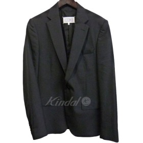 Martin Margiela14 テーラードジャケット ブラック サイズ:46 (銀座店) 190503