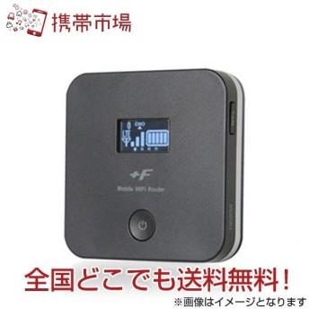 WiFiルーター 富士ソフト モバイルWiFi +F FS020W マットブラック 送料無料 あすつく
