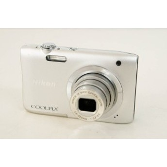 【中古】ニコンNIKON コンパクトデジタルカメラ COOLPIXクールピクス A100 1220万画素 シルバー