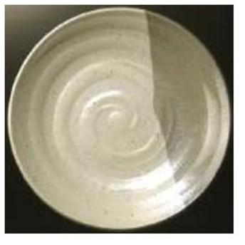 マンネン 業務用 メラミン食器 グレイストーン 丸皿 大 IL-7601L