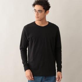 SALE【アポリス(APOLIS)】 【UNISEX】リサイクルコットン ロングスリーブTシャツ 【UNISEX】リサイクルコットン ロングスリーブTシャツ ブラック