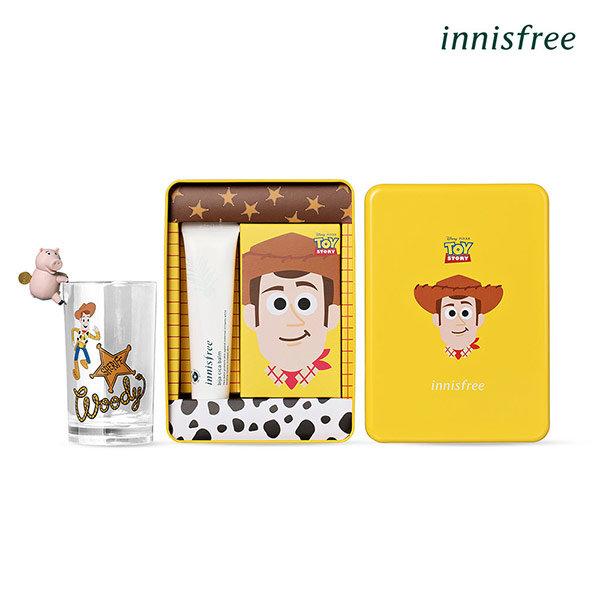 韓國 Innisfree X 玩具總動員聯名款 胡迪鐵盒款(痘痘調理組)
