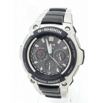 (ウォッチ)CASIO カシオ G-SHOCK ソーラー 電波時計 メンズ 腕時計 MTG-1200 (k)