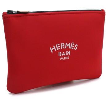エルメス HERMES ポーチ トゥルース フラットMM ネオバン H102989M ROUGE レッド系
