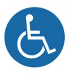 スタンドサイン面板 125R / 125R-18 身障者用設備取寄品【介護福祉用具】
