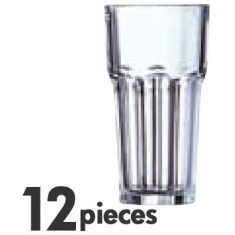 アルコロック Arcorocガラス製 グラニティ タンブラー(グラス) 650cc 38949(38946) 12個