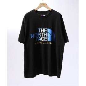 EDIFICE THE NORTH FACE PURPLE LABEL 5.5oz H/S Logo Tee ブラック L