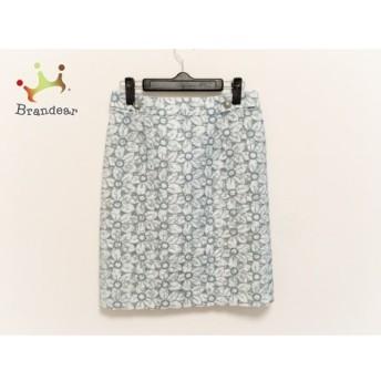 ロイスクレヨン Lois CRAYON スカート サイズM レディース ライトグリーン×グリーン 刺繍/花柄 値下げ 20190915