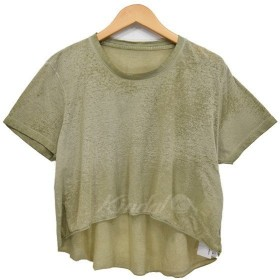 【SALE】 OSKLEN バックロング 加工カットソー Tシャツ サイズ:S (新潟亀田店) 【返品不可】