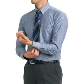 【メンズ】 吸汗速乾機能付き!ニット素材の形態安定Yシャツ ■カラー:ギンガムチェック ■サイズ:39(裄丈82),45(裄丈84),47(裄丈86),41(裄丈84),43(裄丈84),39(裄丈80),41(裄丈80),41(裄丈82),43(裄丈82),39(裄丈78),50(裄丈88),45(裄丈86)