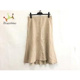 プレインピープル PLAIN PEOPLE スカート サイズ3 L レディース ベージュ  値下げ 20190914