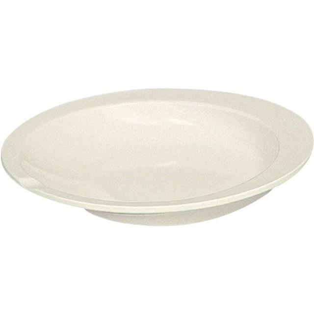 ●全国配送可 すくいやすい皿 アイボリー アビリティーズ・ケアネット F50100  A1400000  介護用品TYA