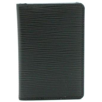 LOUIS VUITTON ルイ ヴィトン エピ オーガナイザー ドゥ ポッシュ カードケース 名刺入れ レザー ノワール 黒 ブラック M63582 (k)