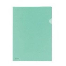 ato5114-2520  クリヤーホルダー(抗菌仕様) A4 緑 コクヨ フ-K750G