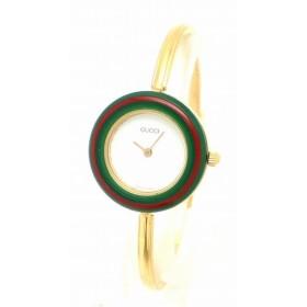 (ウォッチ)GUCCI グッチ チェンジベゼル レディース クォーツ 腕時計 11/12.2 (k)
