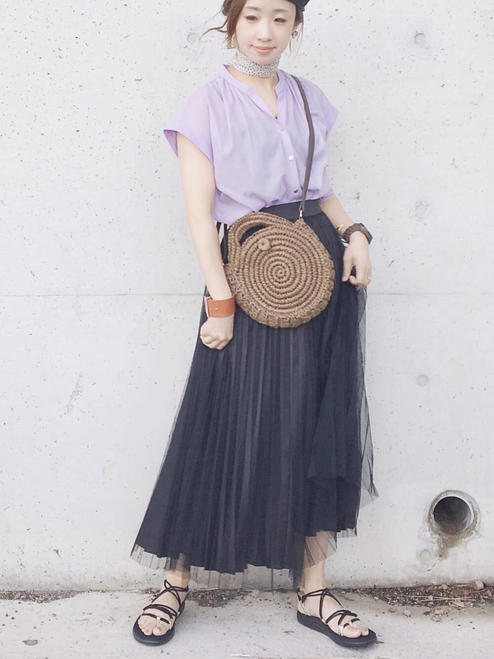 【テイスト別】チュールスカートを使った大人っぽコーデの作り方