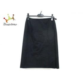 バーバリーズ Burberry's 巻きスカート サイズ42 L レディース 美品 ダークネイビー   スペシャル特価 20190915