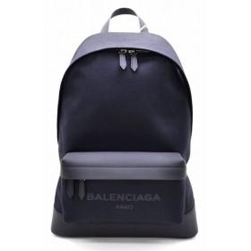 (バッグ)BALENCIAGA バレンシアガ バックパック リュック キャンバス レザー 黒 ノアール ブラック 392007KLX4N1000(k)