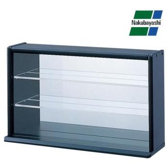 ナカバヤシ コレクションケース ミニワイド 透明アクリル棚板タイプ ブラック CCM-002D