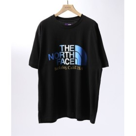EDIFICE THE NORTH FACE PURPLE LABEL 5.5oz H/S Logo Tee ブラック S