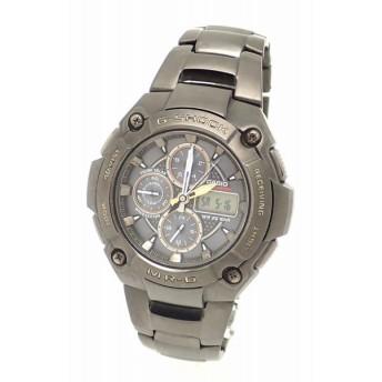(ウォッチ)CASIO カシオ G-SHOCK MR-G ソーラー 電波時計 メンズ 腕時計 MRG-7100BJ (k)