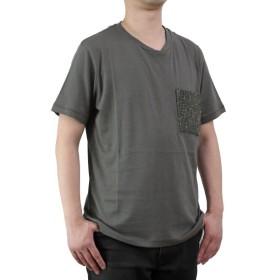 バーク Bark メンズ 半袖 Tシャツ 71B8703 272 KHAKI