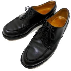 J.M.WESTON 【641】 GOLF レザーシューズ ブラック サイズ:5C (茶屋町店) 190730