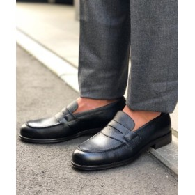 (NOLLEY'S/ノーリーズ)【新色追加】Daily Loafer 18SS/メンズ ブラック・グレー系4