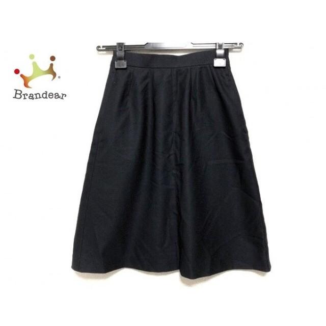 ニジュウサンク 23区 スカート サイズ30 XS レディース 黒   スペシャル特価 20191010
