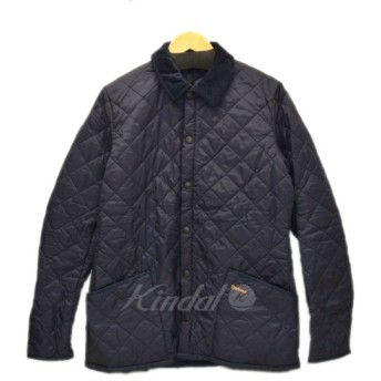 Barbour Heritage Liddesdale Quilted Jacket ネイビー サイズ:M (恵比寿店) 190930