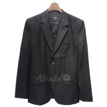 【超特価】【返品不可】A.P.C. 2017SS テーラードジャケット ブラック サイズ:XS (栄店)