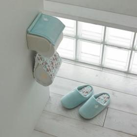 【バーゲン】トイレ小物(単品販売・北欧鳥柄) スリッパ(22~24.5cm)|9690-364101