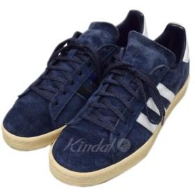 adidas x FOOT PATROL CAMPUS 80S NAVY ネイビー サイズ:US8 1/2 (恵比寿店) 190327