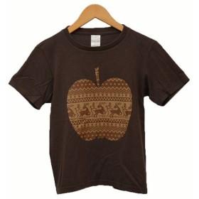 【7月1日値下】NUMBER(N)INE ショート丈 プリントTシャツ Tシャツ ブラウン サイズ:1 (二子玉川店)【返品不可】