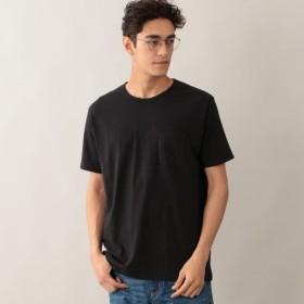 SALE【アポリス(APOLIS)】 【UNISEX】リサイクルコットン ベーシックポケットTシャツ ブラック