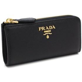 プラダ PRADA L字ファスナー キーリング付き小銭入れ 1PP026 QWA F0002 NERO ブラック