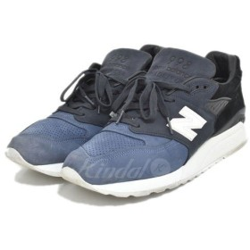 【SALE】 【20%OFF】 NEW BALANCE × RONNIE FIEG × KITH スニーカー MADE IN USA M998RF サイズ:US09 1/2(27.5cm) (アメリカ