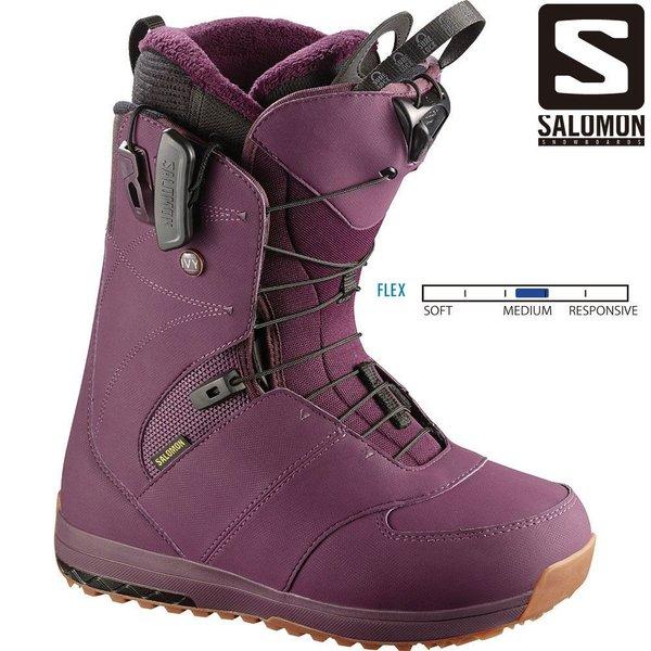 サロモン IVY BORDEAUX L39784500 スノーボード ブーツ