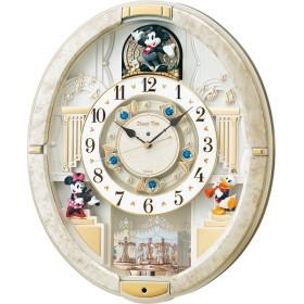 ディズニー タイム からくり電波掛時計