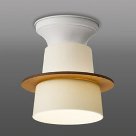 LED小型直付け GL1091G 木飾り付(リバーシブル ナチュラル×ホワイト)