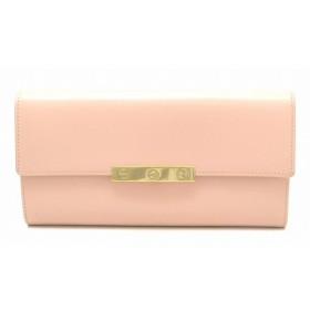 (財布)Cartier カルティエ ラブコレクション インターナショナル ウォレット 2つ折長財布 レザー ピンク L3000746(k)